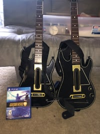 PS4 guitar hero live and two guitars ????