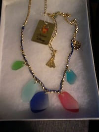 gold chain assorted gemstone rough pendant necklac Washago, L0K 2B0