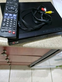 black LG Blueray player...brand new never been use Mississauga, L5N