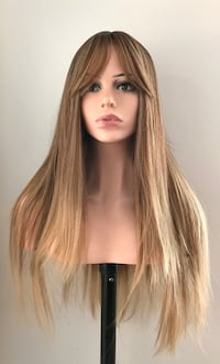 Very Pretty Long Golden Blonde Wig for Everyday
