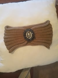 Knitted headband (Caramel/Light brown color) GAINESVILLE