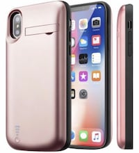 New iPhone X/Xs Battery Case, 5000mAh Protective Portable Charger Case