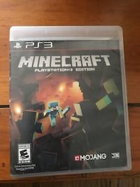 Minecraft sony ps3 game case Long Beach, 90806