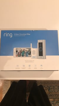 New Ring PRO video door bell Chime Pro Reston