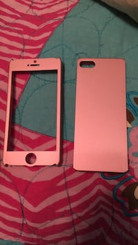 gold iPhone 6 with pink case Dublin, 24084