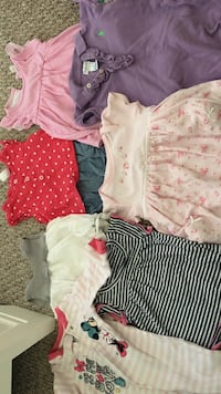 Baby girl clothing $2 a piece