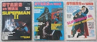 Stars at War magazines (issues #1-3) - 1980s Science Fiction fan mag Mount Airy