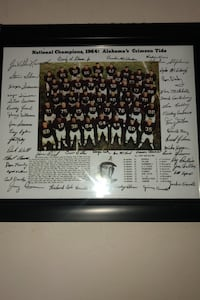 Picture of 1964 Alabama Football team