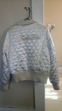 gray and white chevron print pullover hoodie Los Angeles, 90002