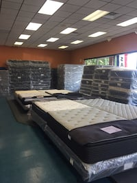 We can super sale going on now. New twin size mattress sets