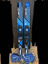 Odyssey Water Skis and ropes