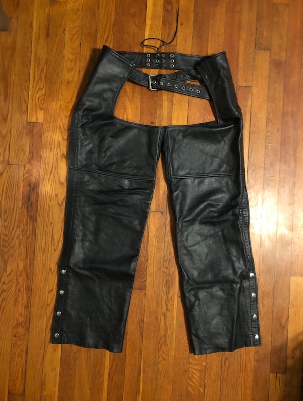 Vintage motorcycle pants XXL real leather paid $260. Excellent condition! Midtown Cycles New York City 22756fd0-3ebb-4fb3-ba86-106c07a1b545