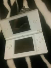 white Nintendo DS with game cartridge Edmonton, T5E 4B1