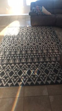 black and white area rug Middleburg, 32068