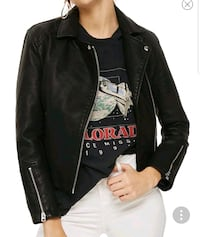 New small (Tall) faux leather jacket  Toronto, M2N
