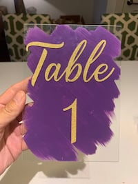 Table numbers 1-12 Washington, 20001