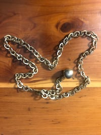 silver chain link necklace with lobster lock Beech Grove, 46107