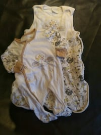 Sleep sack with matching sleeper. Kitchener, N2B 3T7