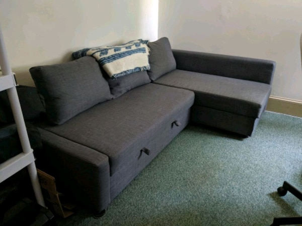 Terrific Used Ikea Sleeper Sectional Couch With Storage For Sale In Unemploymentrelief Wooden Chair Designs For Living Room Unemploymentrelieforg