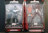 Marvel Legends spidy-verse figures