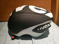 black and white bicycle helmet Calgary, T3H 1L2