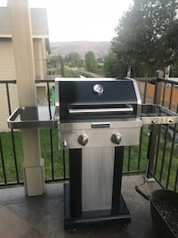 stainless steel and black gas grill East Wenatchee, 98802