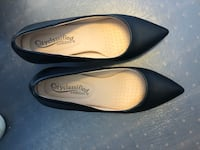 Black shoes heels size 6.5 new Negotiable