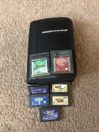 Game Boy Advance SP and games Shoreview, 55126