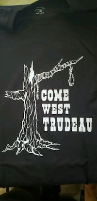 Custom come west Trudeau  Clairmont, T0H 0W5