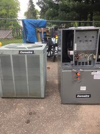 Corsaire by Rheem Central Air Conditioning System FULL R-22