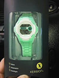 green Xersion digital watch with box Airway Heights, 99001