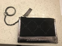 Authentic armani exchange card/coin wallet w/keychain Surrey, V4N 6A2
