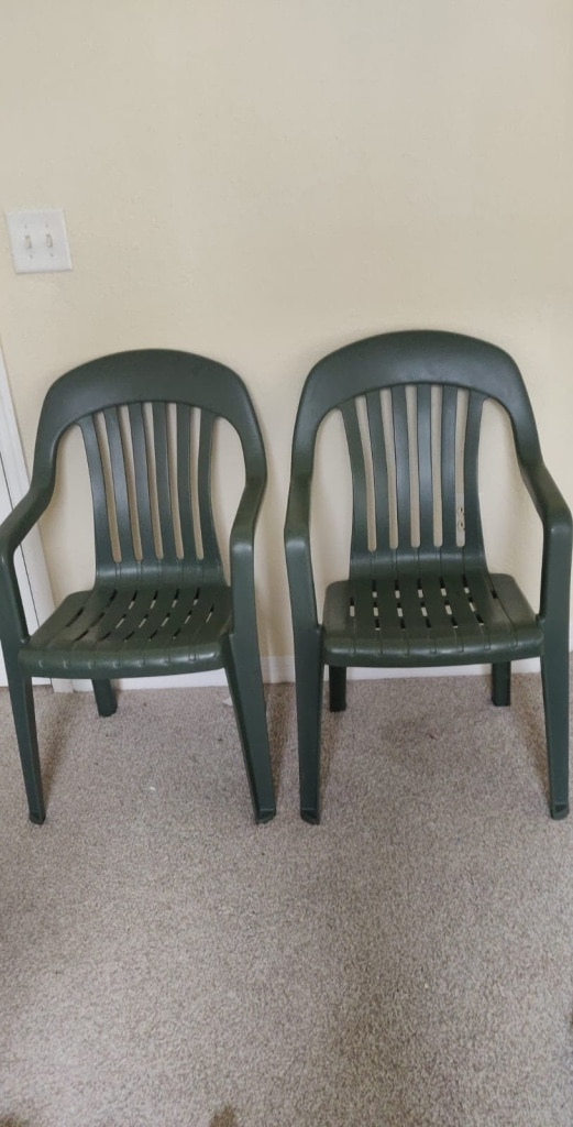 Photo Pair of Plastix Chair for sale