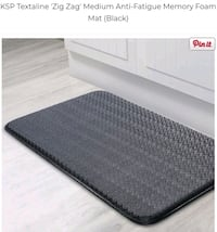 2Anti fatigue kitchen mats.Size is on picture  Toronto, M1E 3T1