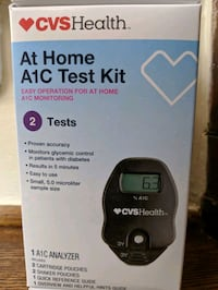 New and Unopened CVC A1C Meter Norfolk