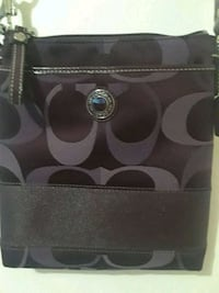 black and gray Coach leather wallet Castle Hayne, 28429