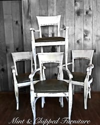 Wooden dining chairs (4) Santa Barbara, 93105