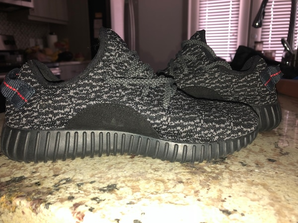 23d3f4cf3 Brukt Adidas Yeezy Boost Size 7 in men s Size 8.5 in womens til ...