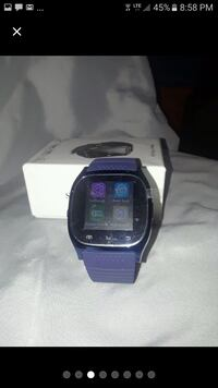 blue and black smart watch Fall River, 02724