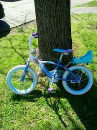 toddler's blue and white bicycle Birmingham, 35234