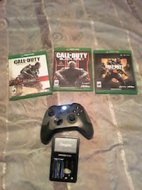 3 games brand new xbox one controller Smyrna, 37167