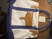 Cutter and Buck travel bag with tags