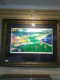 18th at Pebble Beach by LeRoy Neiman Plano, 75074