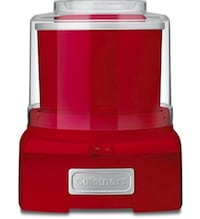 Red cuisint sorbet maker