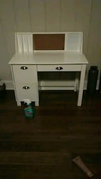 white wooden single pedestal desk Tallahassee, 32305