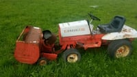 red and black ride on lawn mower Le Roy, 14482