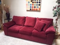 Very nice comfortable sofa (Free Delivery) Price Firm Not Negotiable Bowie, 20721