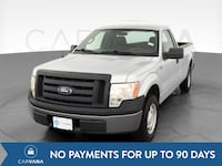 2010 Ford F150 Regular Cab pickup XL Pickup 2D 8 ft Silver <br Baltimore