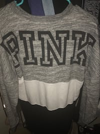 Blue and gray victoria's secret pink sweater Thousand Oaks, 91320