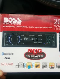 Boss car audio Bluetooth player Hyattsville, 20785